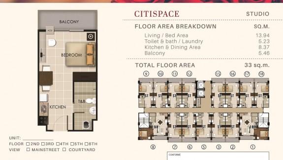 CitiSpace (33sqm)